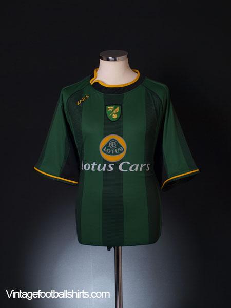 2004-06 Norwich City Away Shirt L