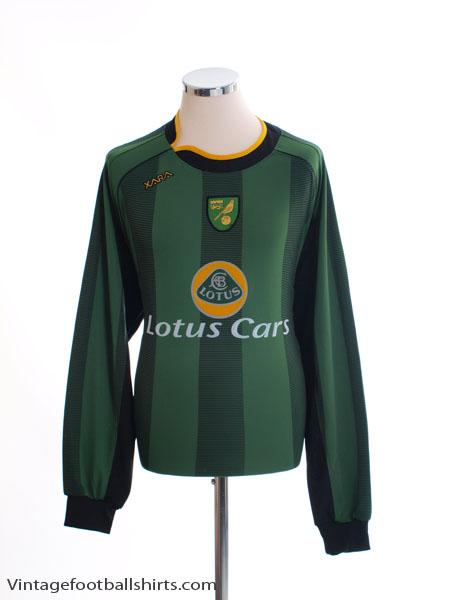 2004-06 Norwich City Away Shirt L/S XL