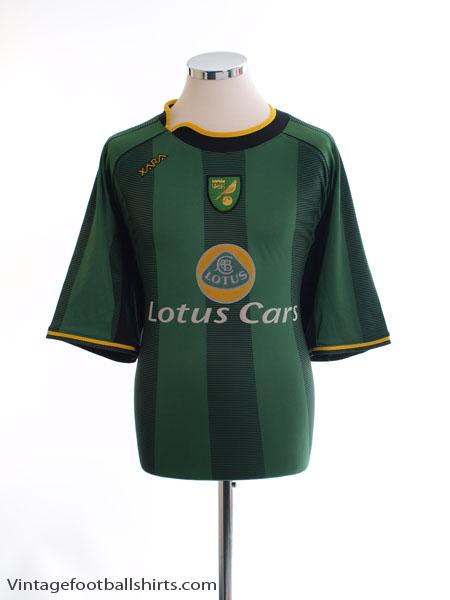 2004-06 Norwich City Away Shirt XL