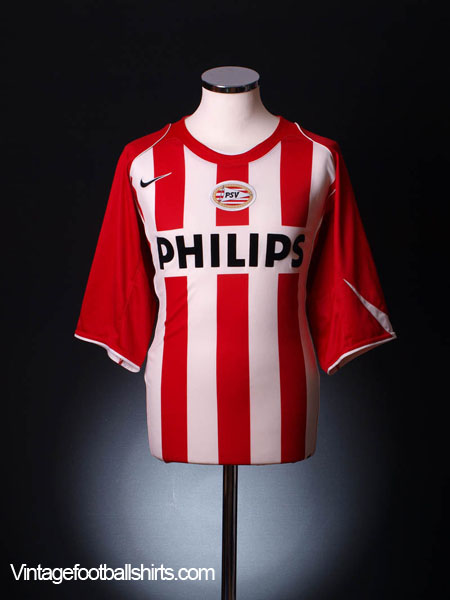 2004-06 PSV Home Shirt *Mint* XXL