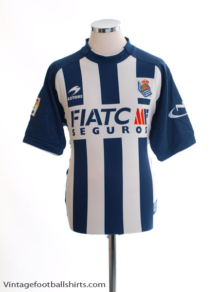 2004-06 Real Sociedad Home Shirt M