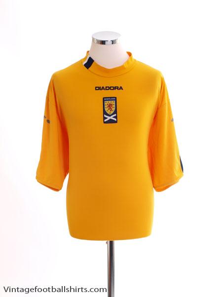 2004-06 Scotland Third Shirt M