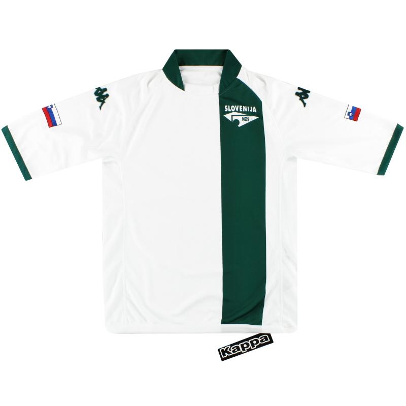 2004-06 Slovenia Kappa Home Shirt *w/tags* M