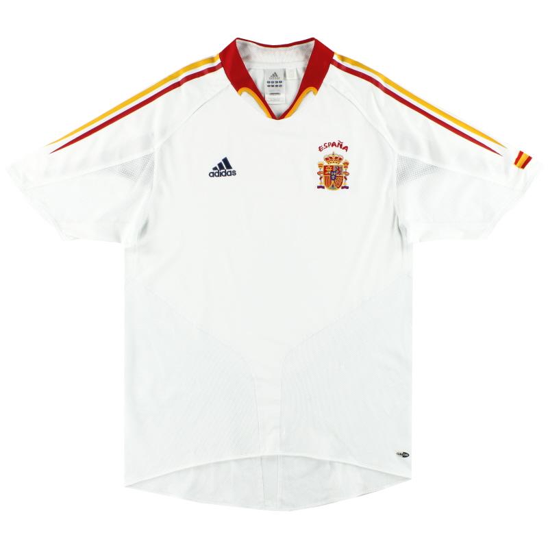 2004-06 Spain adidas Away Shirt L - 600210