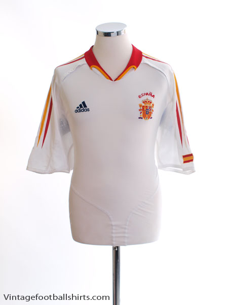 2004-06 Spain Away Shirt XL - 600210