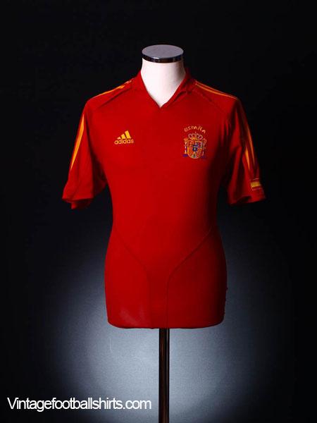 2004-06 Spain Home Shirt L