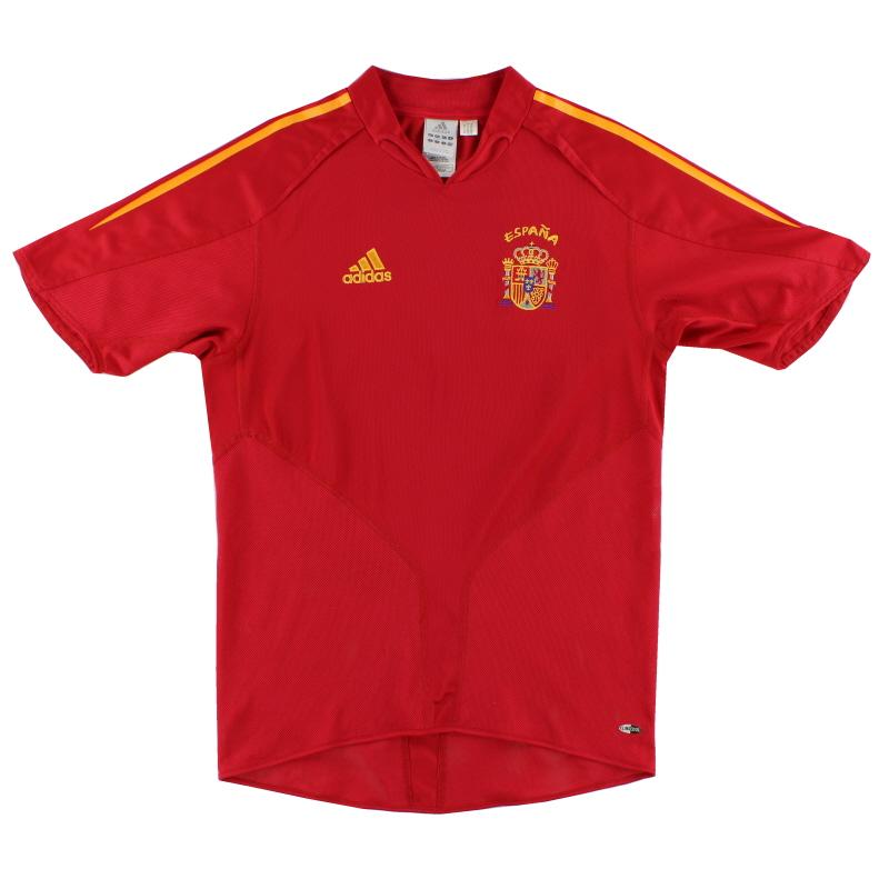 2004-06 Spain adidas Home Shirt M - 600179