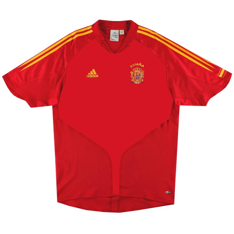 2004-06 Spain Home Shirt S