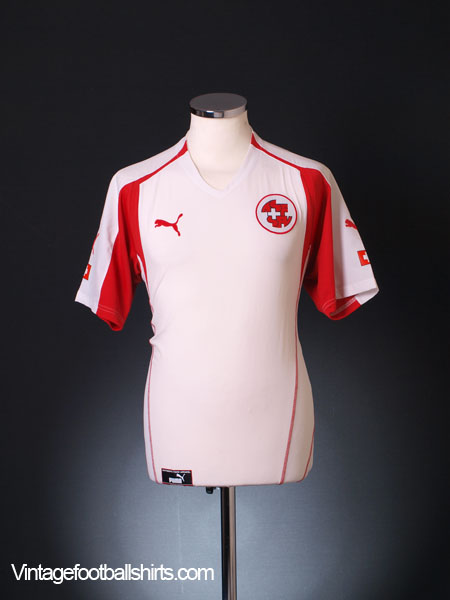 2004-06 Switzerland Away Shirt L