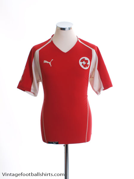2004-06 Switzerland Home Shirt M