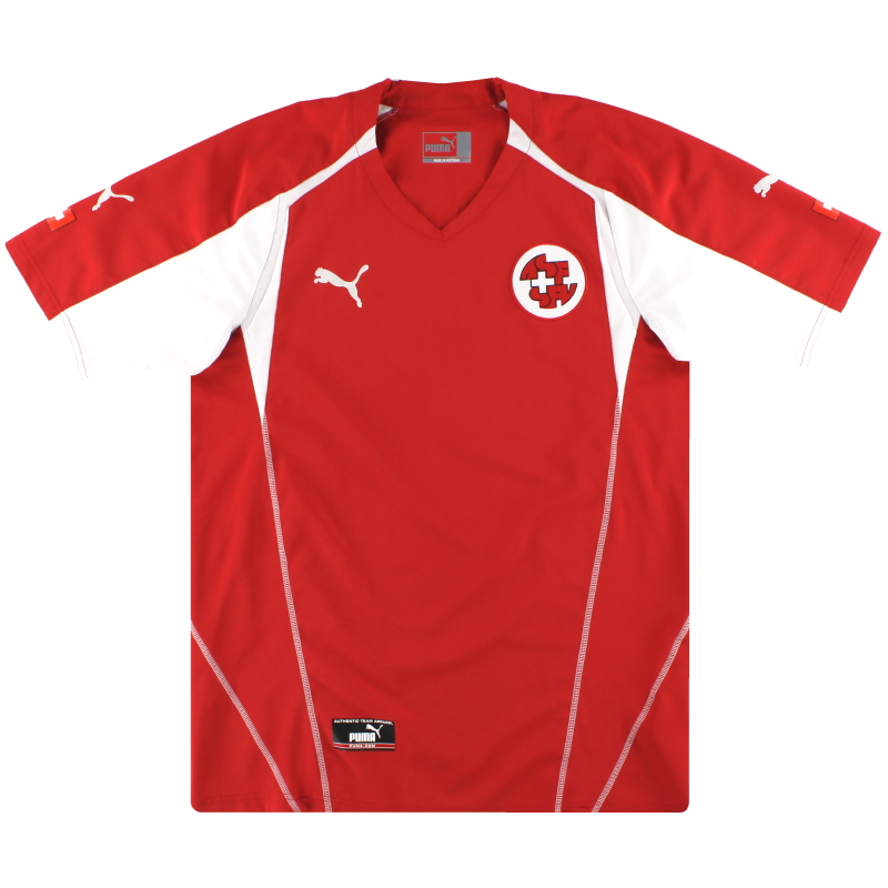 2004-06 Switzerland Puma Home Shirt M