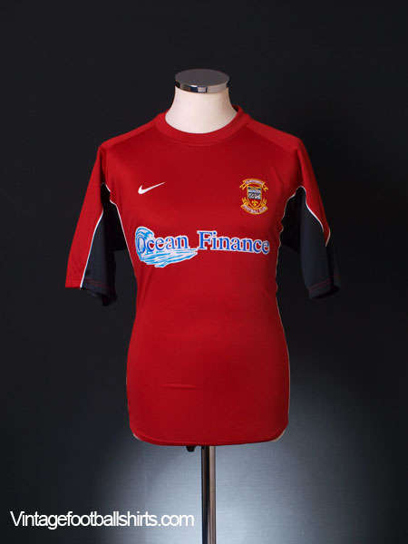2004-06 Tamworth Home Shirt M