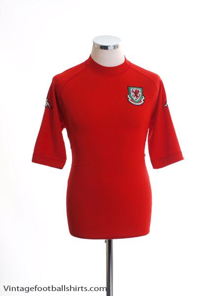 2004-06 Wales Home Shirt L