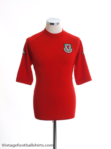 2004-06 Wales Home Shirt M