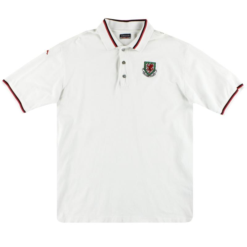2004-06 Wales Kappa Polo Shirt XL
