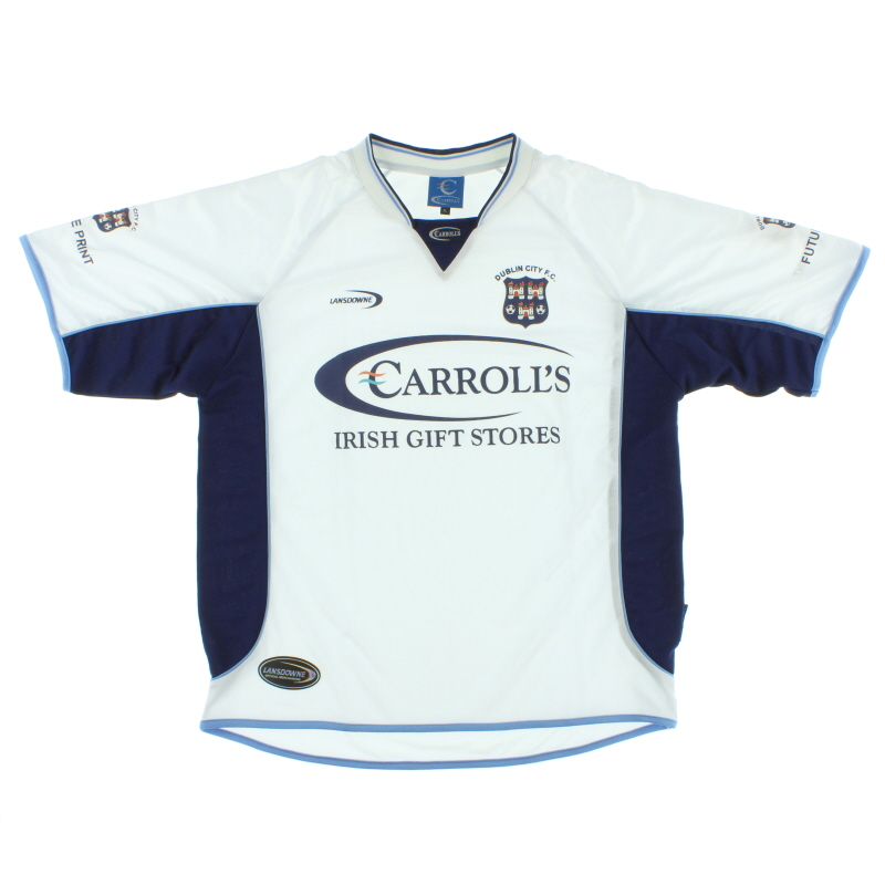 2004 Dublin City Home Shirt XL