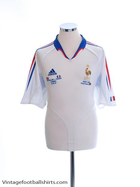 2004 France Away Shirt (vs. Switzerland) L - 641756