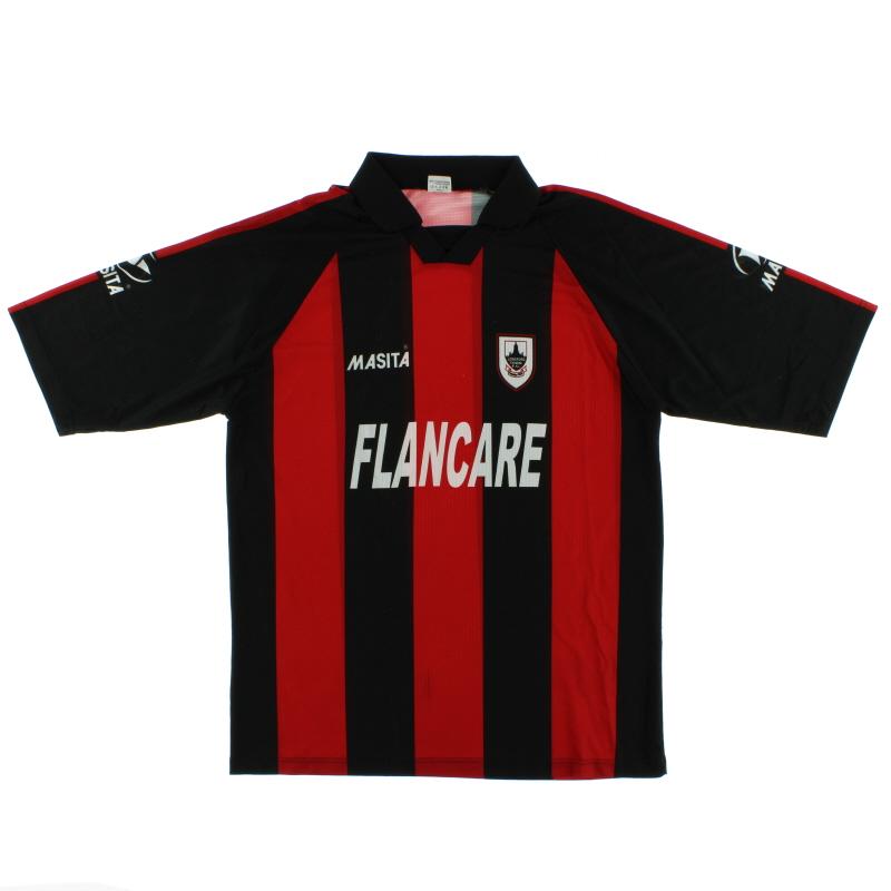 2004 Longford Town Home Shirt XL/XXL