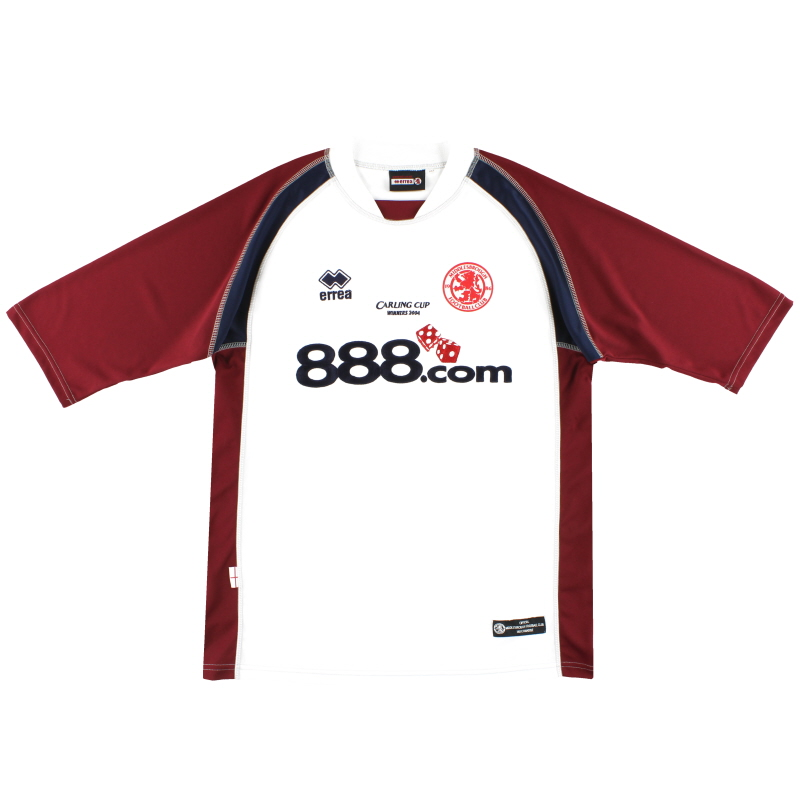 2004 Middlesbrough 'Carling Cup Winners 2004' Away Shirt XXL