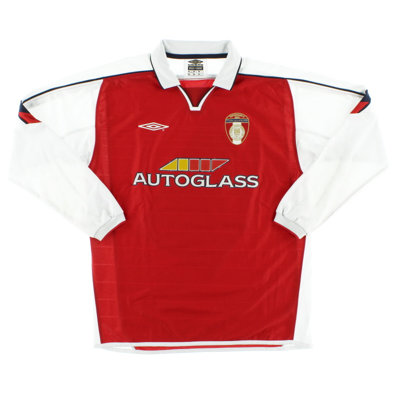 2004 St Patrick's Athletic Home Shirt L/S L