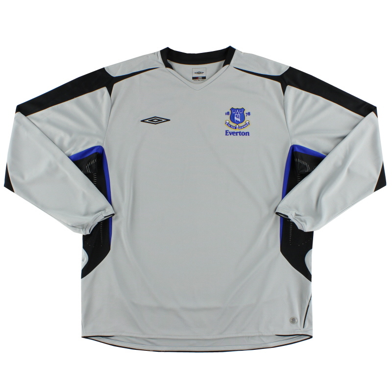 2005-05 Everton Away Shirt *As New* L/S XXXL