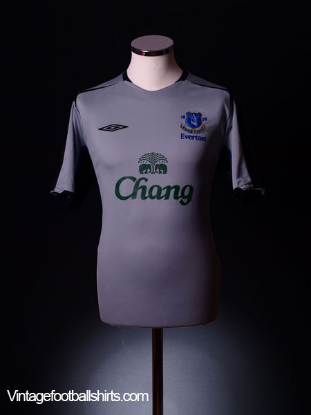 2005-05 Everton Away Shirt L