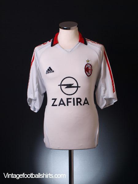 2005-06 AC Milan Away Shirt L