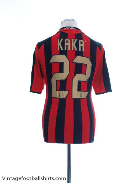 2005-06 AC Milan Home Shirt Kaka #22 S - 109965