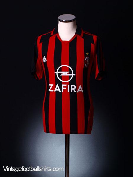 2005-06 AC Milan Home Shirt XL