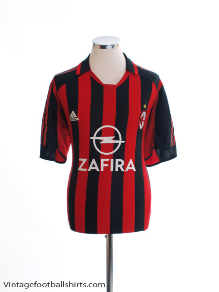 2005-06 AC Milan Home Shirt L