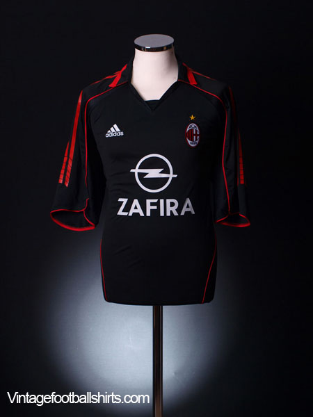 2005-06 AC Milan Third Shirt M