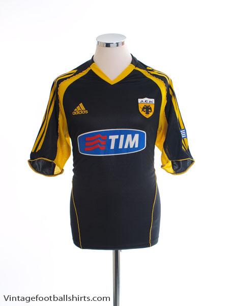 2005-06 AEK Athens Away Shirt S