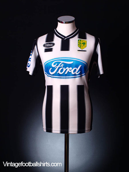2005-06 AEK Larnaca Away Shirt #5 (Demosthenous) M