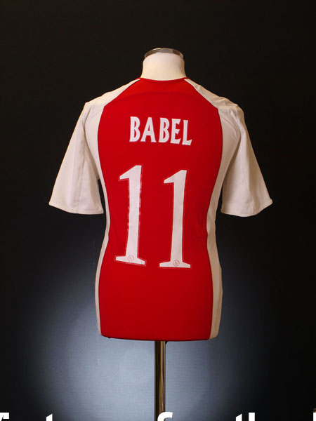 2005-06 Ajax Home Shirt Babel #11 S