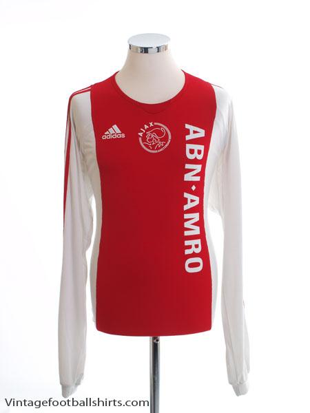 2005-06 Ajax Home Shirt L/S L