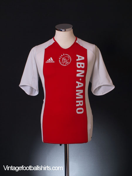 2005-06 Ajax Home Shirt XS