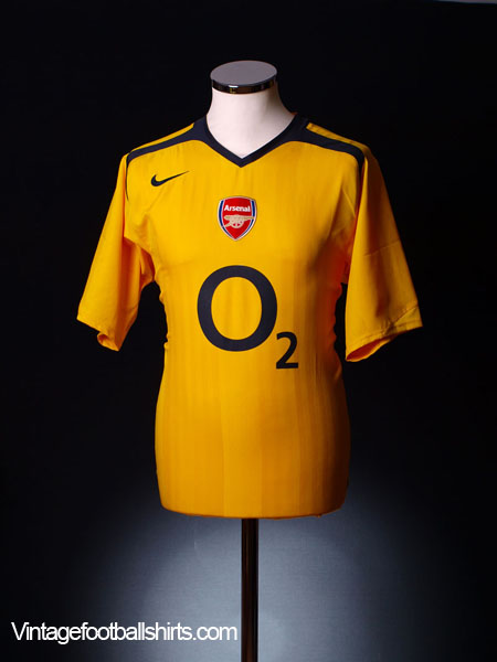 2005-06 Arsenal Away Shirt L