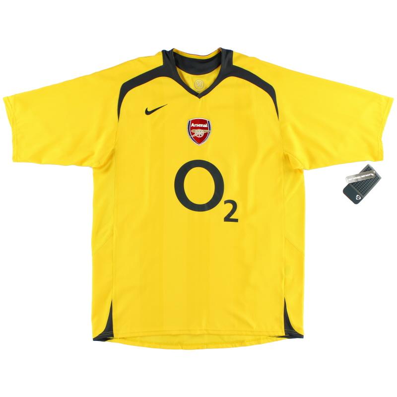 2005-06 Arsenal Away Shirt *w/tags* L