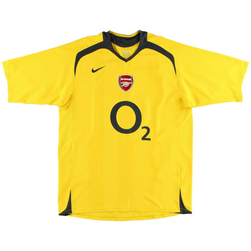 2005-06 Arsenal Nike Away Shirt L - 195581