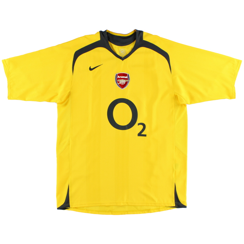 2005-06 Arsenal Away Shirt Y - 496622