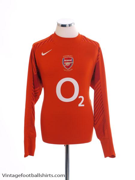 2005-06 Arsenal Goalkeeper Shirt L