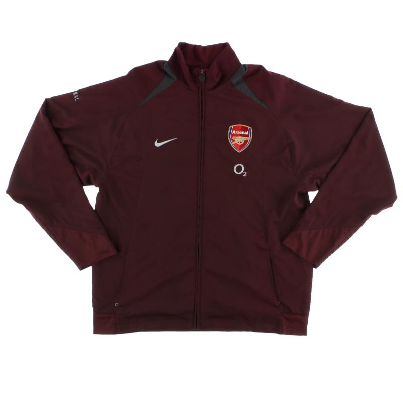 2005-06 Arsenal Nike Track Jacket *Mint* L - 195590
