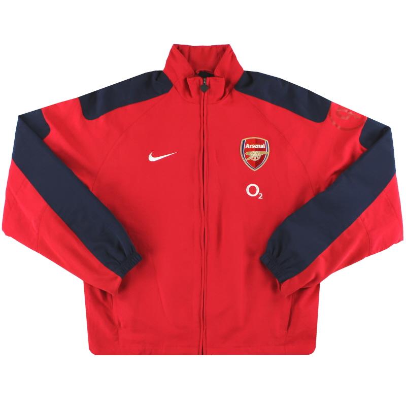 2005-06 Arsenal Nike Training Jacket S