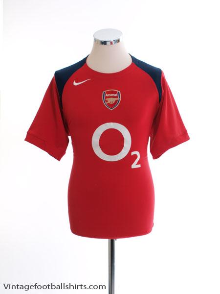 2005-06 Arsenal Training Shirt S
