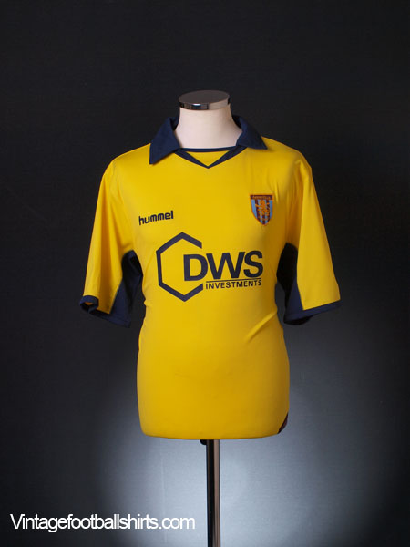2005-06 Aston Villa Away Shirt L