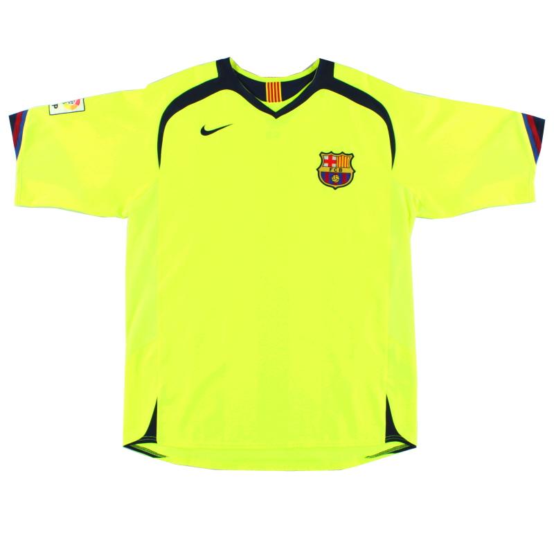 2005-06 Barcelona Away Shirt L - 195971