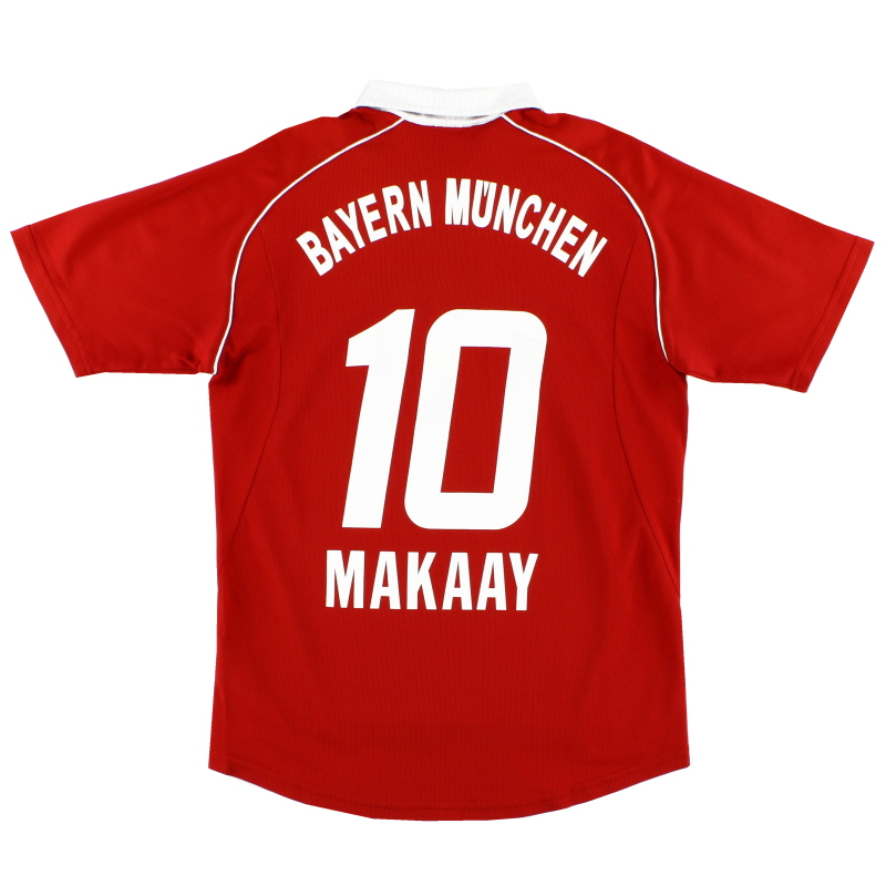 2005-06 Bayern Munich Home Shirt Makaay #10 S