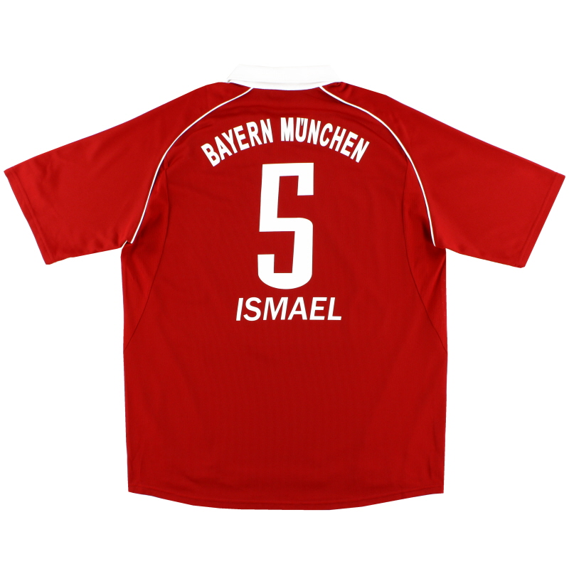 2005-06 Bayern Munich Home Shirt Ismael #5 XL