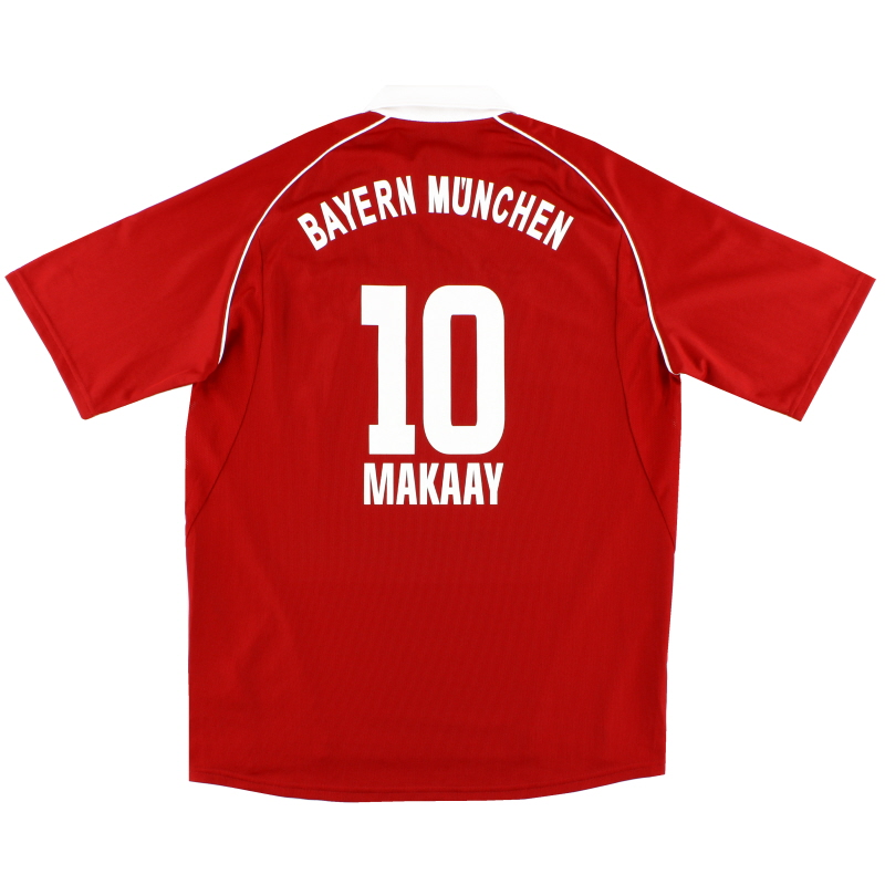 2005-06 Bayern Munich Home Shirt Makaay #10 *Mint* L