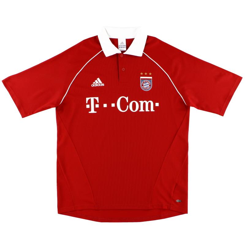 2005-06 Bayern Munich adidas Home Shirt *Mint* XL